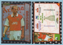 Arsenal Dennis Bergkamp Holland B1
